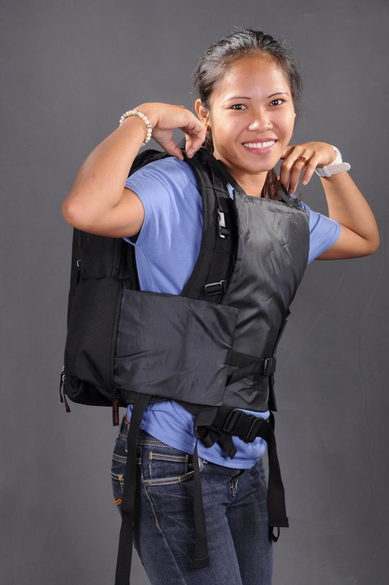 Our new Lifepack Businesmens Model Ballistic Backpack